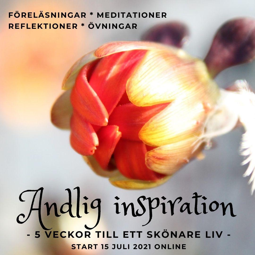 Onlinekurs, start 15/7: Andlig inspiration