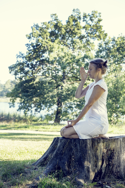 Bild ur boken Detox Lifestyle - få mer energi med yoga, mat och nya vanor. Foto: Camilla Lindquist.