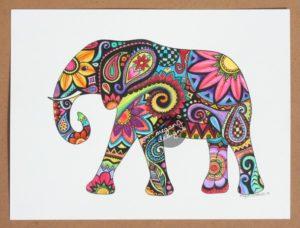 Den långsamma och kloka elefanten får ofta symbolisera kapha. Bild lånad från https://favim.com/image/2054593/