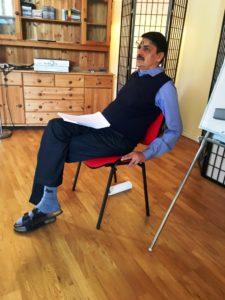 Min lärare Dr Vinay Vora på Skandinaviska Ayurveda-Akademin.