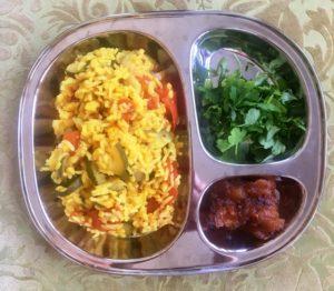 ris med grönsaker recept