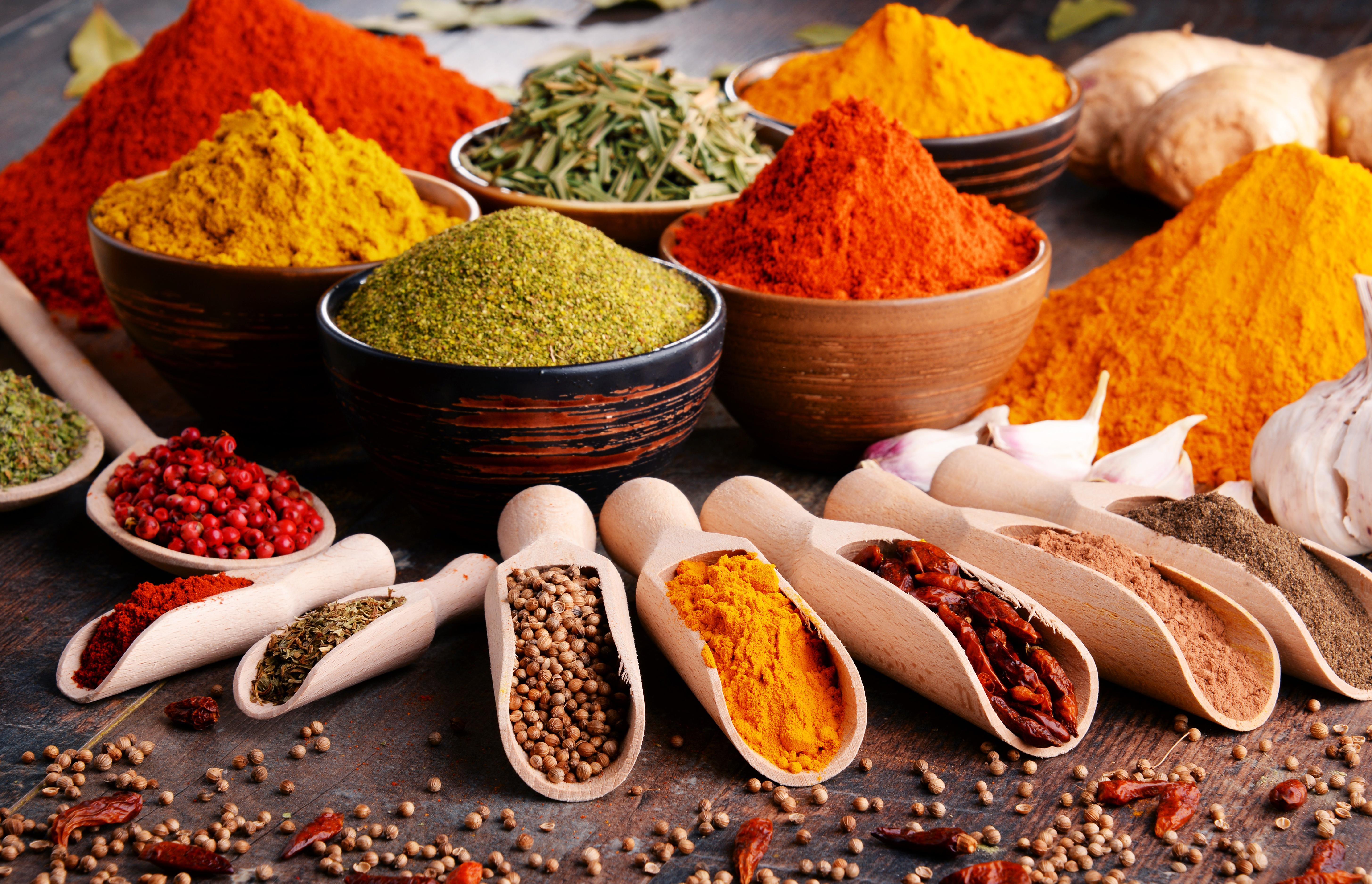 Indiska kryddor