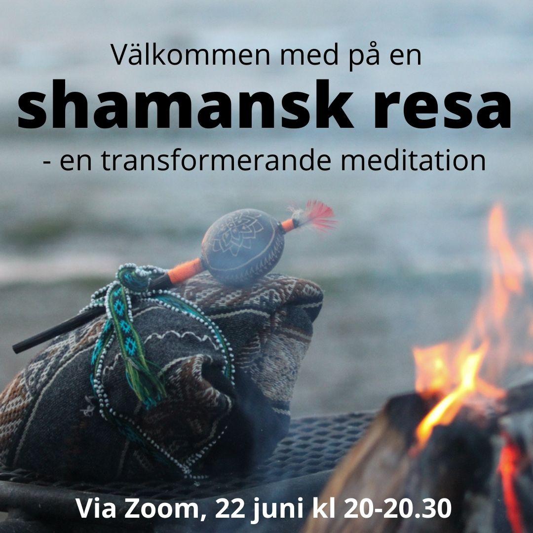 Onlineevent 22/6: Shamansk resa