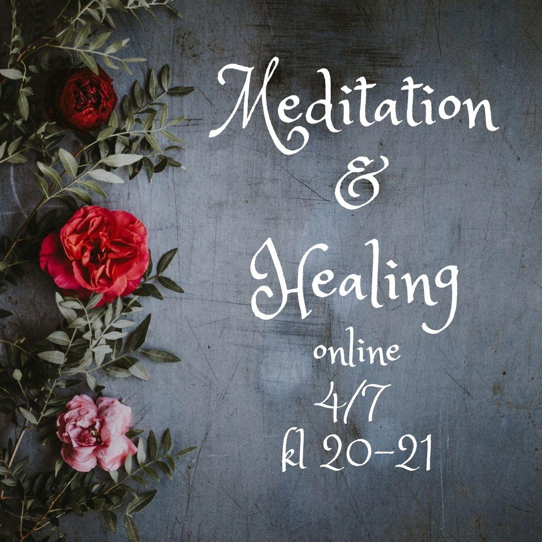 Onlineevent 4/7: Meditation & healing